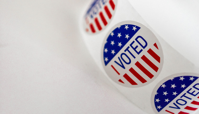 I Voted sticker reel