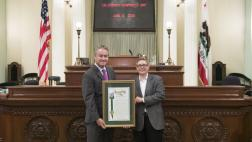 Assemblymember O'Donnell Honors LGBTQ Center of Long Beach as Nonprofit of the Year