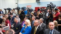 Press members in attendance